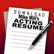Mike Mili Acting Resume